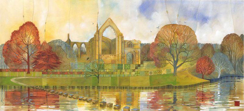 Autumn at Bolton Abbey