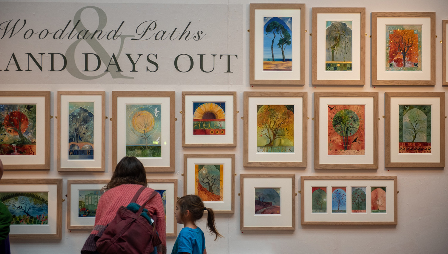 The launch of 'Woodland Paths & Grand Days Out'